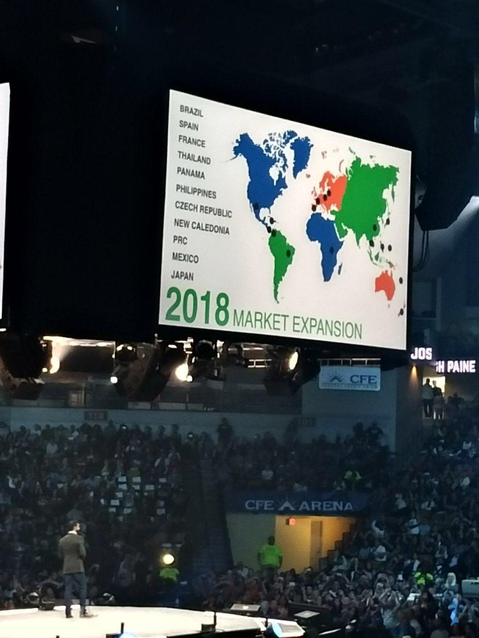 Notícias da WorldVentures direto do evento MOMENTUM nos EUA
