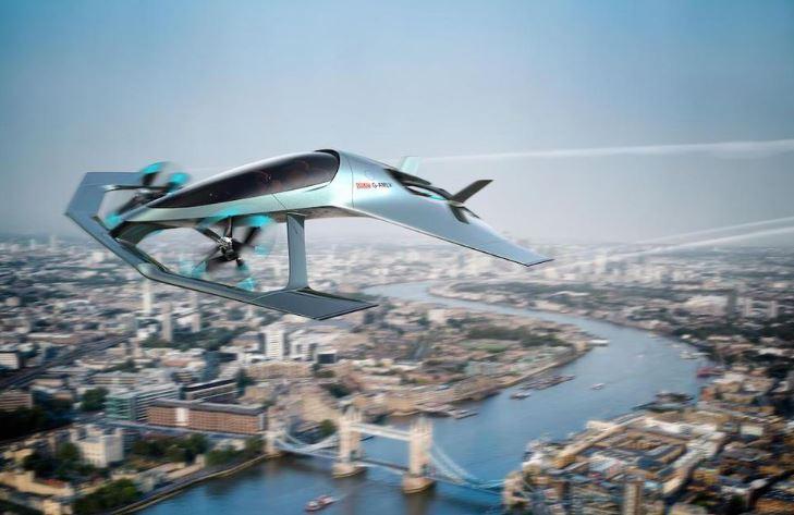 Aston Martin oferecerá um carro voador com luxo no céu