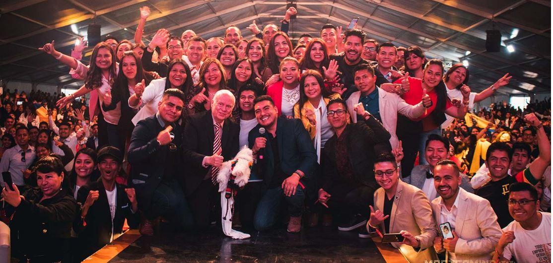 Este foi o Mastermind 18, o impressionante evento Leaders Team no Peru