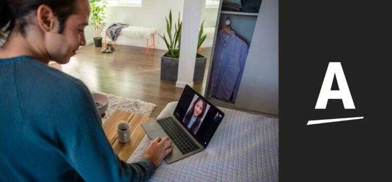 Amway pede para seus empreendedores usarem a marca da empresa em suas videochamadas
